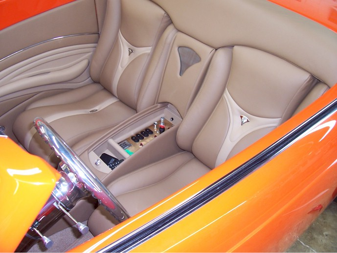 1939 Ford Coast To Coast Leather Interior