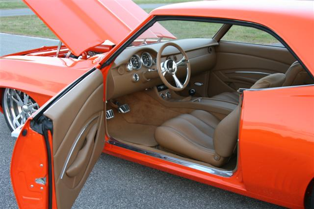 Scott Whidby 39 S 1969 Camaro Custom Leather Interior